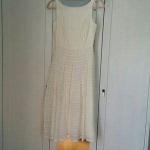 Tommy Hilfiger cream dress, size 2